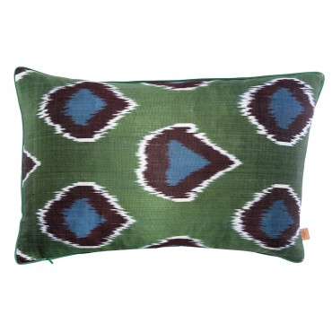 A set of  ikat Cushions
